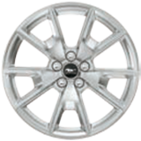 "19"" Premium Luster Nickel-Painted Aluminium"