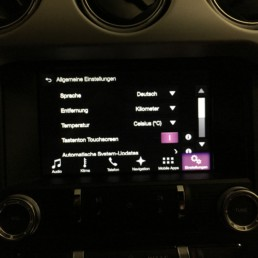 Ford SYNC 3 deutsch