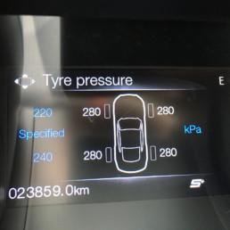 Reifendruck Vorgabe Specified Tyre Pressure