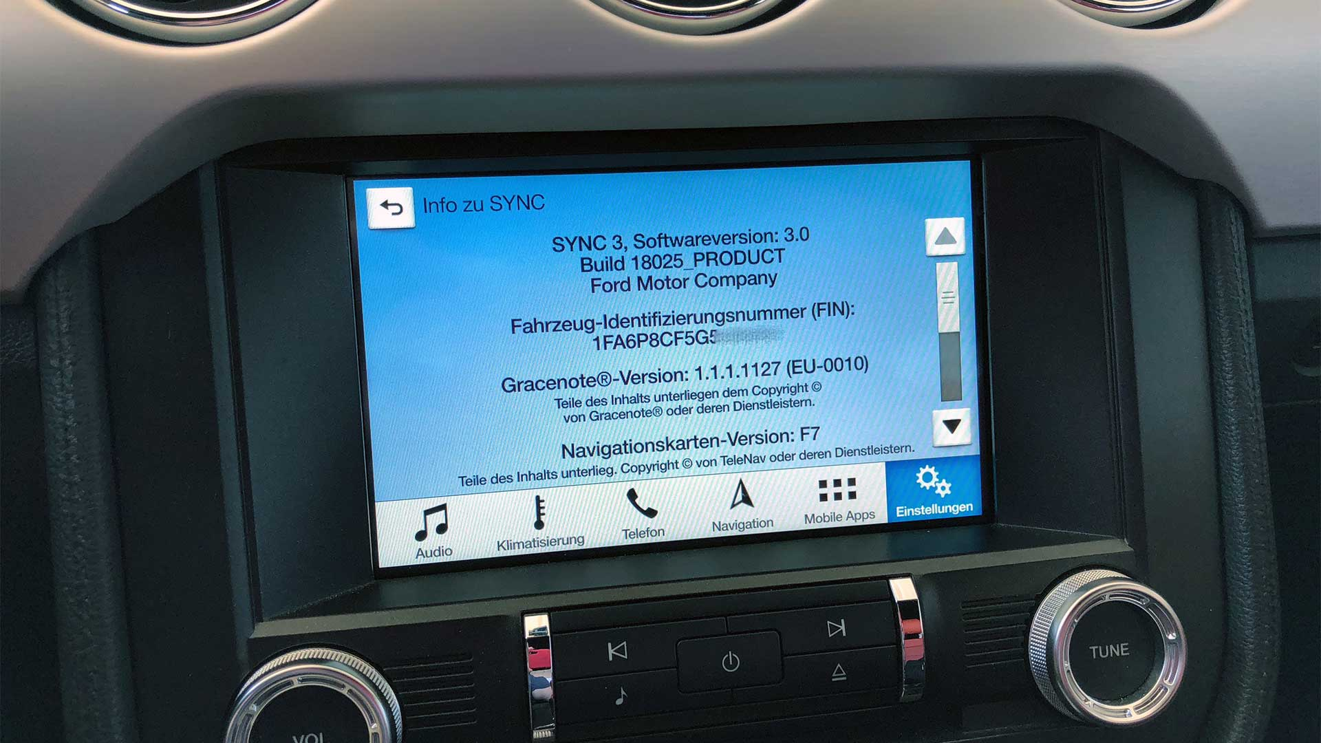 updating ford sync