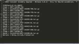 EU SYNC3 SYNC3 18025 Update auf 3.0.13