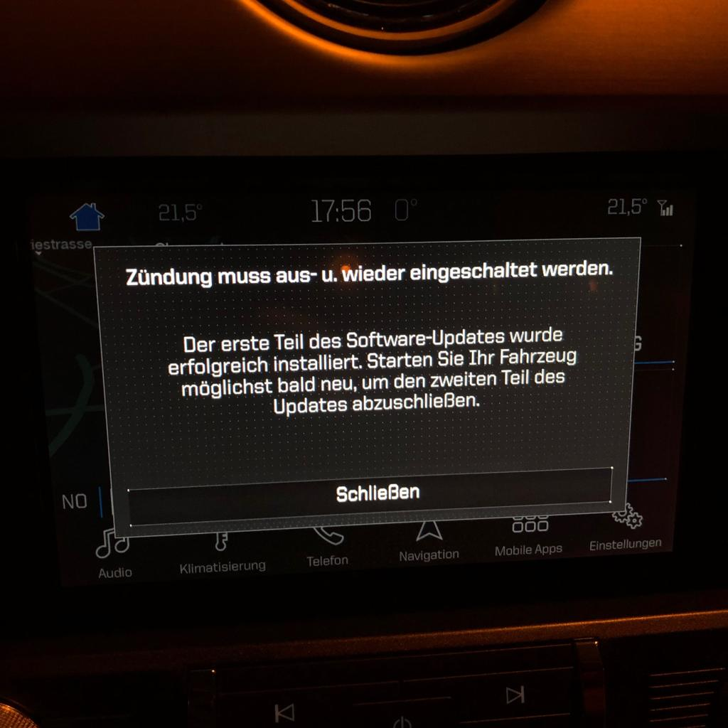 How to Update Ford SYNC 3 Navigation Maps to Europe F8 (2018)
